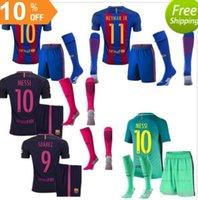 barcelona dhl - Mixed buy DHL Barcelona kit socks soccer jersey Home Away MESSI ARDA A INIESTA Soares I RAKITIC kit socks