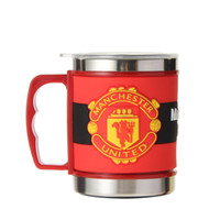 Wholesale Brand New Stainless Steel Coffee Mugs Cup Customized England Football Team Metal Water Cups With Lids