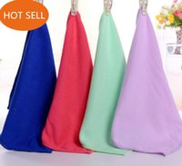 Wholesale Microfiber towels small squares kitchen towel dish towels clean towel Gift towel Towel factory with cheap price
