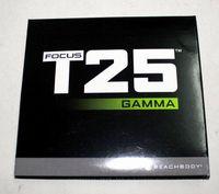 Cheap Shaun T Focus T25 Workou Gamma 4 Disc Set Boxset US Version New