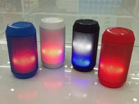 audio parties - A50 Portable LED Light Pulse Wireless Bluetooth Mini Speaker With FM Party Light Call Receiver for iPhone Tablet PC Audio Music Player FM