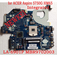 Wholesale Attention Integrated P5WE0 LA P FOR Acer G SERIES LAPTOP MOTHERBOARD HM65 MBR9702003 MB R9702 working
