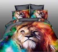 Wholesale Leopard rose wedding bedclothes d bedding set bedcover king size bed sheet Linen Duvet Comforter cover pillowcase pc of set