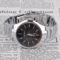 al por mayor ls reloj de acero-Reloj con estilo del reloj del cronómetro de la alarma de Digitaces del acero inoxidable de los hombres del reloj Reloj con estilo del reloj de la muñeca LS * MHM518 # A2