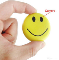 digital video mini dv camcorder - FBI Smile Face Badge Camera mini DV Hidden Camera Digital Video Recorder Realtime Mini SD Card DVR Camcorder