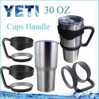 Wholesale In stock Cups Handle For YETI Rambler oz Bilayer Stainless Steel Insulation Mug Black Handle of Portable Double Wall Car Cups