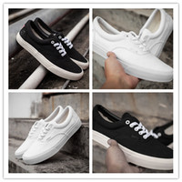 bare love - 1 quality love and peace with USA flag black and white color canvas shoes low for man and women size