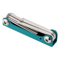 Wholesale Pro sKit PK S Wrench Kit Portable Folding Screw Driver Set mm HEX mm Metric Size