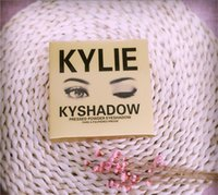 Wholesale In stock Factory Direct DHL New Makeup Eyes gold Kylie Ky Shadow Pressed Powder Eyeshadow Palette Mini Colors Eyeshadow