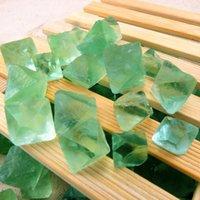antique china repair - Natural crystal nunatak chlorophane multicolour crystal nunatak rhombus decoration energy stone repair stone g