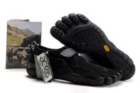 Wholesale Men s M248 KSO Trek Chocolate Black Five Fingers shoes Hiking Climbing Fitness Sports Shoes for man Athletic