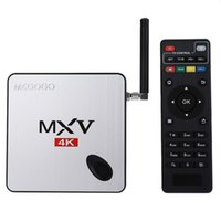 adapter youtube - MEGOGO MXV K IPTV Box Amlogic S905 Quad Core Bit Android Smart Media Player in1 Adapter GB GB GHz KODI