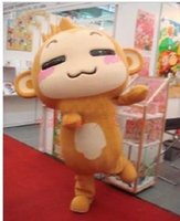 Wholesale 2016 new hot sale Monkey Mascot Costume Cheap Mascot Costume cartoon costumes