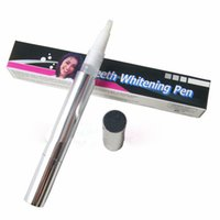 Wholesale Popular White Teeth Whitening Pen Tooth Gel Whitener Bleach Remove Stains oral hygiene HOT SALE WA0121