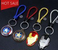 Cheap cartoon keychain Superhero keychain Best Pocket monster keychain Cartoon keychain The Avengers pikachu keychain
