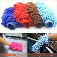 Wholesale Super Mitt Microfiber Car Wash Gloves Washing Cleaning Anti Scratch car washer Household care brush hot selling