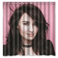 best shower curtains - Demi Lovato Best Design Shower Curtain Size x cm Custom Waterproof Polyester Fabric Bath Shower Curtains