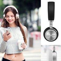 aluminium fibre - Original Meizu HD50 Headphones Headhand HIFI Aluminium alloy shell Less than of low distortion Superfine fibre diaphragm DHL PA3380