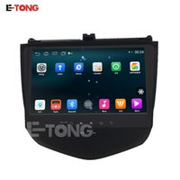 Wholesale 10 Inch Car DVD For Honda Accord Android Quad Core G HD Support Camera Radio Bluetooth Steering Wheel GPS WIFI