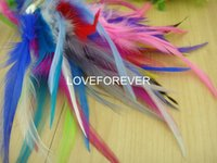 baby rooster - colors select rooster feather inches cm DIY hair accessories fascinator baby hairband material F05