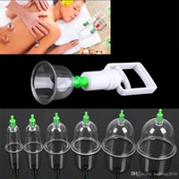 Wholesale 12 Set Medical Vacuum Cupping with Suction Pump Suction Therapy Device Set Therapy Kit Body Relaxation Healthy Massage Set