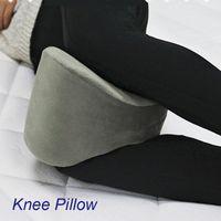 Wholesale Memory Cotton Knee Pillow Leg Pillow Nursing Cushion Pregnant Woman Velour Cover Rebound Effect OEM Customized