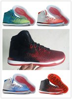 Wholesale Top quality Retro XXX1 Black Red Mens Basketball Shoes With Carbon Fiber Airs s XXXI Sports Sneakers Size With Box