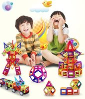 Wholesale Children s educational toys this has a magnetic force of the building blocks have a strong three dimensional style and a variety of colors
