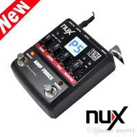 Wholesale 12 Models Electric Guitar Amplifier Color TFT LCD Panel NUX Guitar AMP Force Modeling Amplifier Simulator