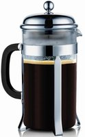 Wholesale SterlingPro French Coffee Press Cup Mug liter oz Chrome Drop Shipping