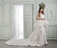 bead sellers - 2016 Hot Seller Fall Winter Mermaid Wedding Dresses Sleeveless Backless Jewel Detachable China Wedding Dresses
