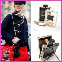 acrylic lock boxes - Women s Clutches Box Evening Bags Perfume Bottle Shape Bag Perspex Women s Shoulder Bags