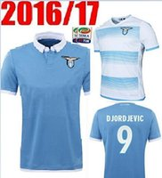Wholesale top Thai quality LAZIO blue Soccer Jersey SS Lazio football shirts maillot de foot camisa de futebol