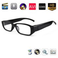 Cheap Spy glasses HD 720P Camera Hidden Digital Sunglasses Video Camcorder Gentle Glasses Eyewear DV Audio Pinhole Security Camera