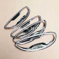 auto door chrome handles - For Toyota Corolla ABS Chrome Door Handle Bowl Protective Decoration Trim Auto Styling Accessories