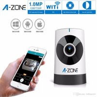Wholesale Authentic A ZONE P wifi IP Panoramic Camera Security Surveillance IP cameras WiFi Video with Baby Care Monitor Security Camera