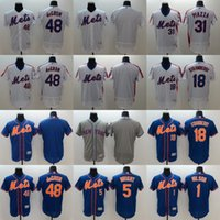 baseballs wilson - 2016 Newest Elite Men s New York Mets Jacob deGrom Wilson Wright Strawberry Piazza Flexbase Authentic Collection Jerseys
