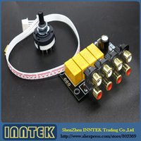 amplifier selector switch - Home Audio Video Equipments Amplifiers Assembled Audio Switching Board Select Audio Input signal Selector Relay Board