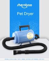 air blowing machine - New arrival pet dryer high power ultra quiet pet blowing machine for dogs cats