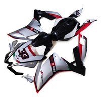 aprilia motorcycle - Injection Fairings For Aprilia RS4 Complete ABS Plastic Motorcycle Fairing Kit Bodywork Cowlings Silver Black Red Body Kit