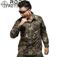 acu collar - Mens Tactical Shirts Long Sleeve Zip Off Tactical Camouflage Shirts Breathable Military Training Shirts ACU CP A TACS