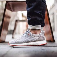 Wholesale 2016 New ULtra Boost Uncaged Solebox Men S Running Shoes Fashion Running Sneakers for Men Grey