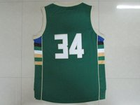 Wholesale Jabari Parker Giannis Antetokounmpo White Hunter Green Black Baskeball climacool Jersey Sportswear Swingman Replica embroidered LOGO