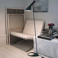 bedroom night stand - AJ Night Standing Creative Brief Iron Art Floor Light Creative Loft Floor Lamp Modern Bedroom Luxury Floor Lamp