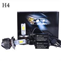 al por mayor kits de xenón para automóviles-CREE 120W 7200LM LED CAR KIT DE LA LINTERNA H4 9003 HB2 ALTA Hi / luz de cruce REEMPLAZAR xenón del halógeno de 2016 la venta caliente de la promoción de alta calidad
