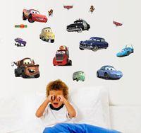 animations wallpapers - 2016 New Creative diy cartoon animation kids Decorative Stickers Wall PVC Decal Cartoon Wallpaper Free DHL
