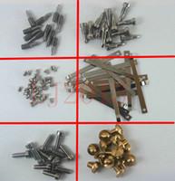 Wholesale 60pcs Different sax repair parts screws parts