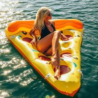 Wholesale NEW Swimline Swimming Pool Inflatable Pizza Slice Float Raft Fun Water Toy