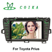 auto black book - Quad Core Android Auto Car DVD Radio For Toyota Prius GPS Stereo BT Phone Book WIFI G OBD DVR HD Screen USB SD