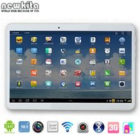 Wholesale Newkita Inch Tablet Quad Core Android Tablet PC GPS Wifi G Phone Call Phablet GB RAM GB ROM SIM